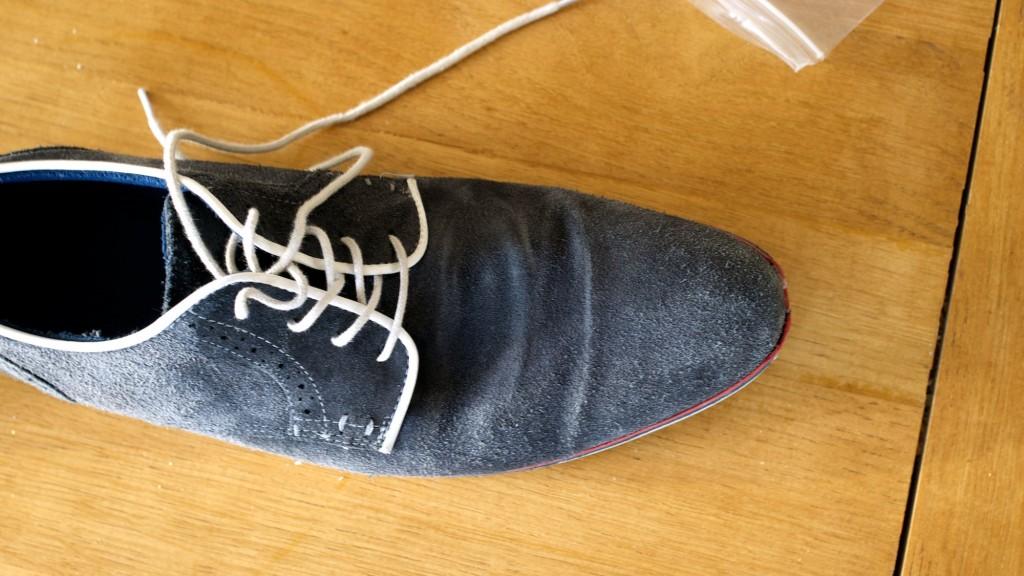 Schoen gelijmd